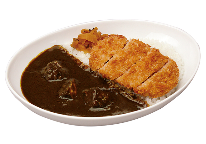 image of Premium Beef Curry and Rice with Pork Cutlet