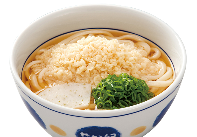 image of Udon with Tempura Bits